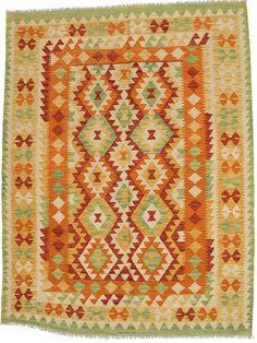 Kelim Afghan Old style tapijt ABCO31
