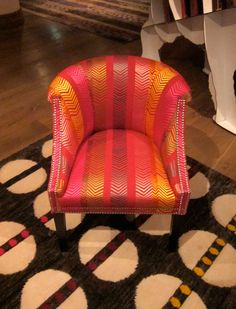Find This Pin And More On Small Spaces Interior Design Armchair Designed By Kit Kemp