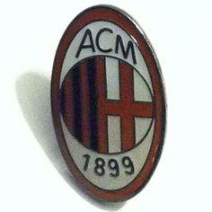 A.C. Milan Metal Pin Badge
