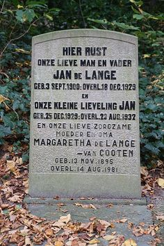 Tombstone Tuesday: Father and son #geneabloggers #genealogy