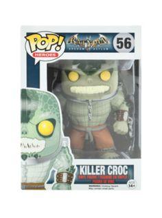 Funko DC Comics Batman: Arkham Asylum Pop! Killer Croc Vinyl Figure ash