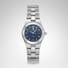 Concord Women's 309812 Mariner Watch Latest Watches, Watches For Men, Wrist Watches, Stainless Steel Bracelet, Stainless Steel Case, Concord Watches, Wedding Attire For Women, Discount Watches, Watch Sale