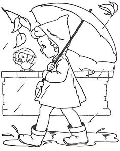 Vintage coloring pages!