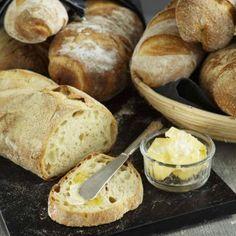 Surdegsbröd från kronjäst Bread Baking, Bakery, Brunch, Health Fitness, Cooking Recipes, Breakfast, Food, Breads, Corner