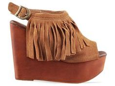 Shoes by Jeffrey Campbell Snick Fringe