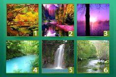 Test de los Rios Imagina que tienes la posibilidad de viajar a uno de estos seis ríos. Las características del río que elijas (su paisaje, su forma, sus ...
