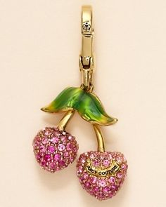 Cherries charm  Juicy Couture