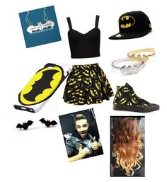 """Batman time with Liam Payne"" by calimybae ❤ liked on Polyvore featuring interior, interiors, interior design, home, home decor, interior decorating, Forever New, Monday and Converse"