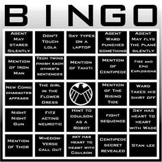 Community: 19 Awesome Bingo Cards To Play While Watching Your Favorite TV Shows