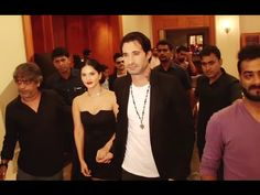 Sunny Leone with husband Daniel Weber at song launch of Fuddu movie. Gossip, Sunnies, Interview, Product Launch, Husband, Photoshoot, Songs, Youtube, Movies