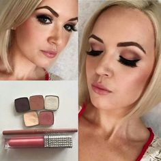 #GetTheLook Eyes: Primed with concealer in #0 ultra fair Base color and under brow bone - #17, Crease - #37, V - #29 Lid - #4, Tear duct - #30, Bottom lash line - #16, & our Perfect eyeliner pen.Lips: Liner #2 and Gloss in Grace #ProudlyOfferingTheBest #LightsCameraAction #ProMakeUp #UseWhatTheProsUse #LimeLightIsDIFFERENT #HighEnd #RCMA #MUA #LeapingBunny #WomenOwnedBusiness #NotYourAverage #MakeUpJunkie #MOTD #FullFace