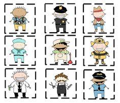 Preschool Printables Community Helpers Preschool Pinterest