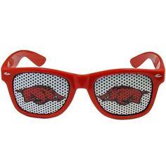 Arkansas Razorbacks Game Day Retro Sunglasses