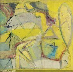 Untitled 1945 | Franz Kline sold by Christie's, New York