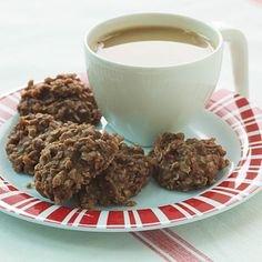 no-bake chocolate-oatmeal cookies... super yummy