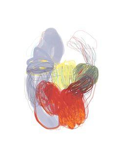 abstract ipad painting olivier umecker