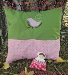 the craftingfiend: I LOVE you the Mostest ! (Pocket pillow tutorial with patterns)