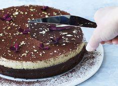 Chokoladekage med kaffemousse
