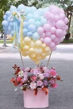 Good Night Flowers, Lovely Good Night, Good Night Love Images, Good Night Image, Happy Birthday Flower, Happy Birthday Images, Happy Birthday Greetings, Valentines Balloons, Balloon Gift