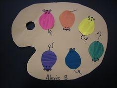 mouse paint kinders