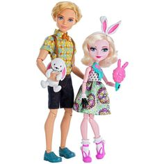 Ever After High Alistair Wonderland and Bunny Blanc 2-pack. Credit to: Ever After High Dolls on Facebook