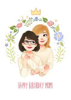 Happy Birthday Mom! by mistraLN on DeviantArt