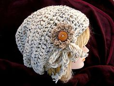 Ravelry: YT-Slouchy Hat pattern by Emi Harrington See matching legwarmers too.