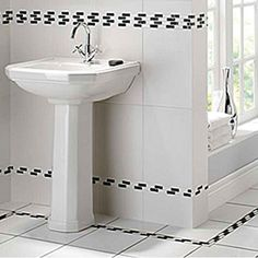 Twyford Clarice 580mm 2TH Basin with Full Pedestal    Price 180.58 inc vat (240.77)