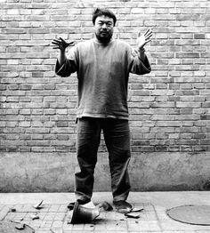 AI WEIWEI, Dropping a Han Dynasty Urn, 1995, three gelatin silver prints, each 148 × 121 cm. Courtesy the artist.