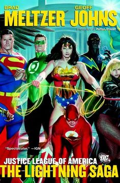 Justice League Of America Lightning Saga TP
