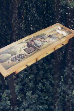 Amish Sofa Table (MW012)