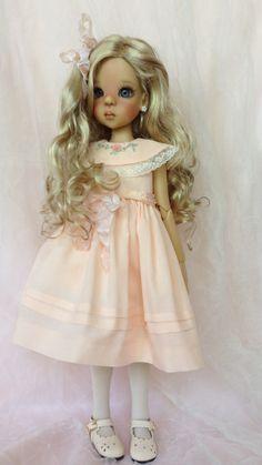 Layla in Peach Batiste | by dolls031946