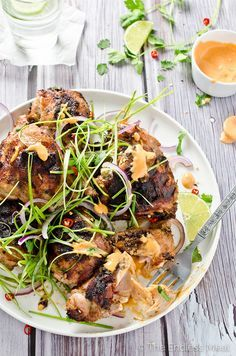 Lemongrass Grilled C #healthychicken