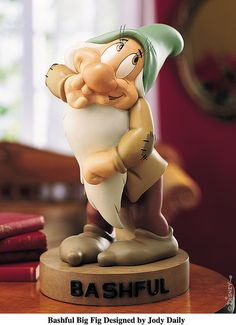 *BASHFUL ~ Snow White and the Seven Dwarf's..my fave from all the dwarfs :)