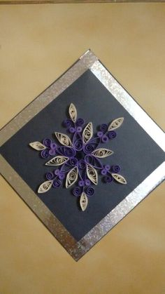 Quilling -  wall hanging