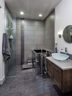 Bathroom Fixtures Eugene Oregon aquabrass shower column and rainhead featured in @concept kitchen