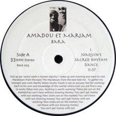 Amadou Et Mariam - Bara