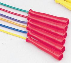 7 Feet Set of 6 Sportime Gradestuff Link Jump Ropes