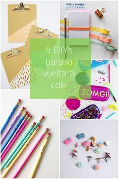 5 Back to school DIY