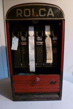 Online veilinghuis Catawiki: Origineel Rolca ticket/kaartjes apparaat uit een bioscoop, 1960s