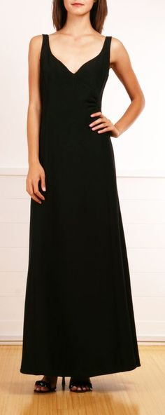 Armani. Exquisitely simple and elegant. All it needs is one knock-out diamond necklace.