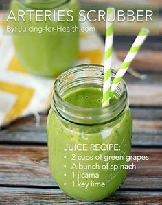 Lower Blood Pressure and Scrub Away Clogged Arteries with This Simple Juice - Juicing For Health #BloodPressureNaturalRemedy