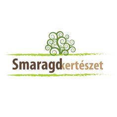 smaragd kertészet logóterv