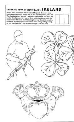 ireland flag coloring page