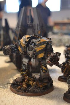 Iron Warriors Leviathan Dreadnought by Adrian Strath of 30k Iron Warriors Players Facebook group