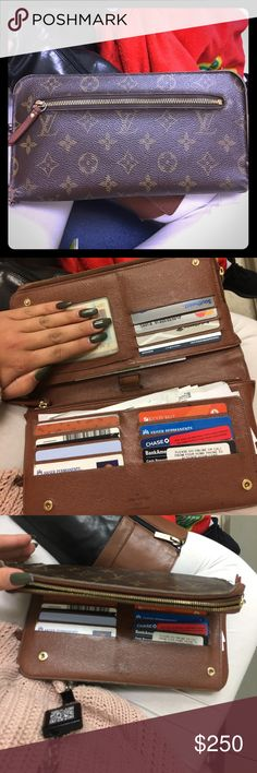 Louis Vuitton wallet / clutch Louis Vuitton wallet / clutch Louis Vuitton Bags Clutches & Wristlets