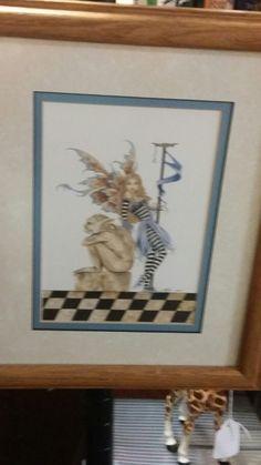 Fairie print. Booth 203.
