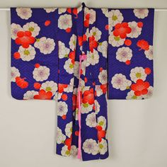 Kimono for child【子供用】振袖/紫色 梅花柄 振り袖/女児用