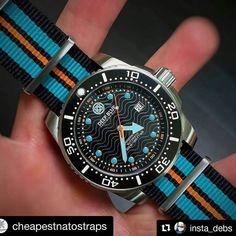 @insta_debs This watch is !  #Repost @cheapestnatostraps Deep Blue on a black blue black and orange NATO strap from http://ift.tt/1cu5aLf #cheapestnatostraps #natostrap #natoband #klocksnack #watchuseek #instawatch #watchesofinstagram #watchaddict #watchband #watchstrap #watchmania #womw #watchporn #watchnerd #strapaddict #watchoftheday #dailywatch #uhrforum #horology #wristcandy #watchcollector #watchfam #natonation #watch #watches #wristshot #wristwatch #deepbluewatches