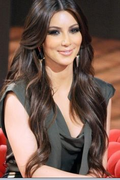 I've always thought the Kardashian sisters had the most beautiful hair. I wouldn't exactly be upset if I woke up with Kim's tomorrow. Just sayin'!